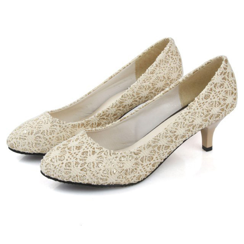 876e585cade Hopscotch - Vogue lady - Women White Kitten Heel Pumps