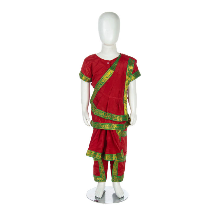 27fb750b6 Hopscotch - BookMyCostume - Bharatanatyam Indian Classical Dance Costume  For Girls And Women