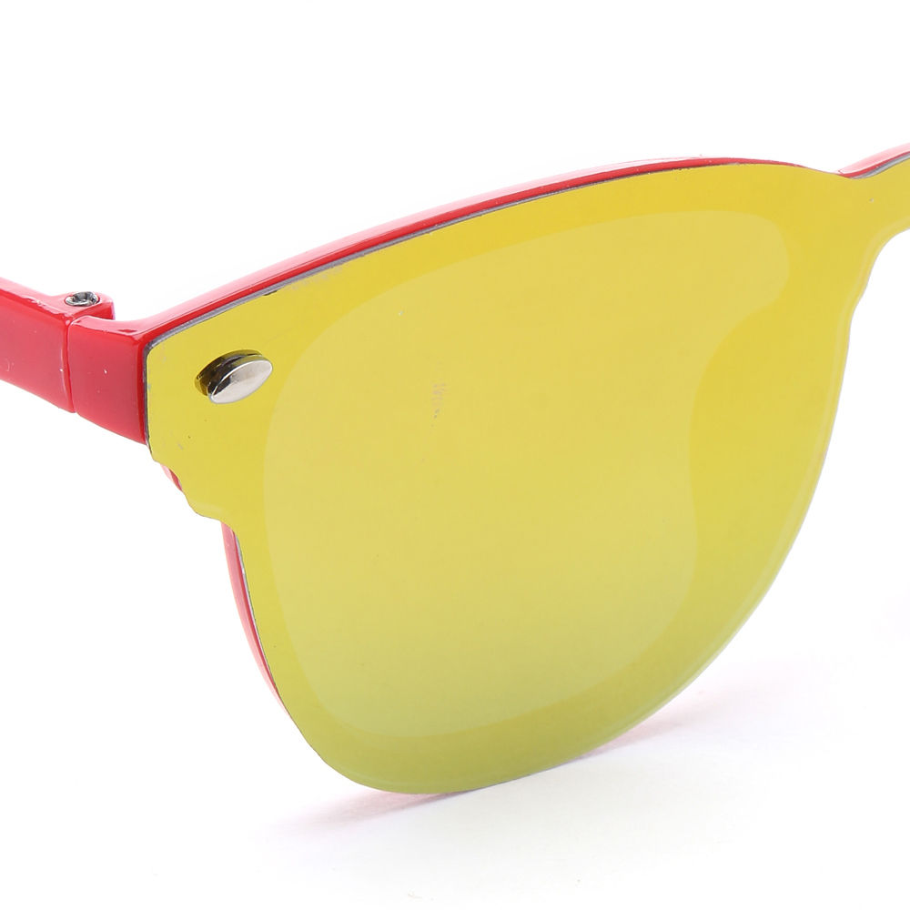 6b046cc1d9 ... Hopscotch Seven Rainbows Stylist One Piece Lens Sunglasses Red