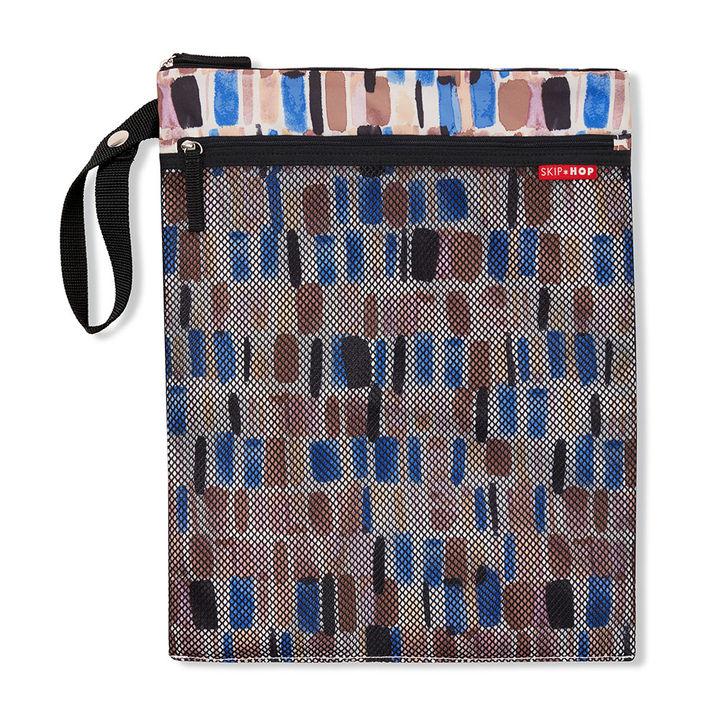 Grab&Go Wet/Dry Bag- Brush Stroke