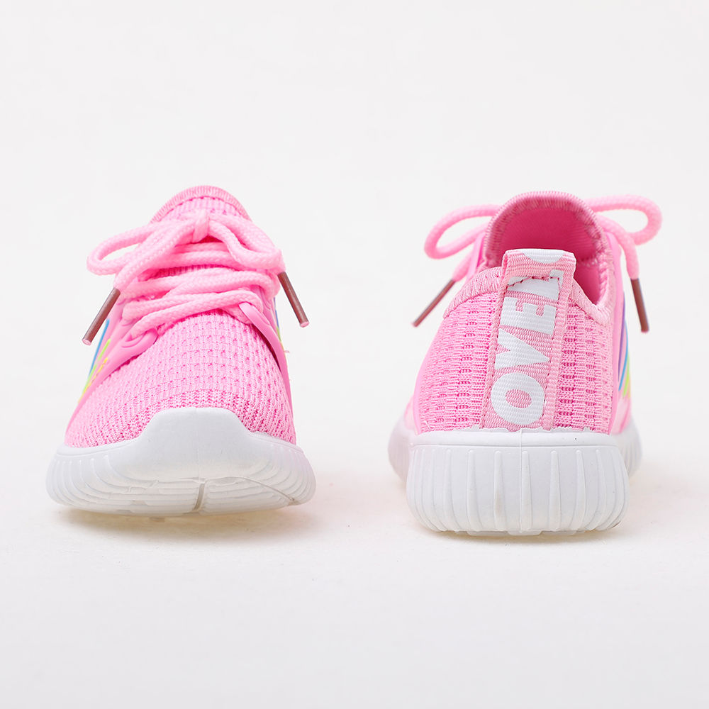 6427c6dc1887 Hopscotch - GB baby - Pink Lace Up Sneakers