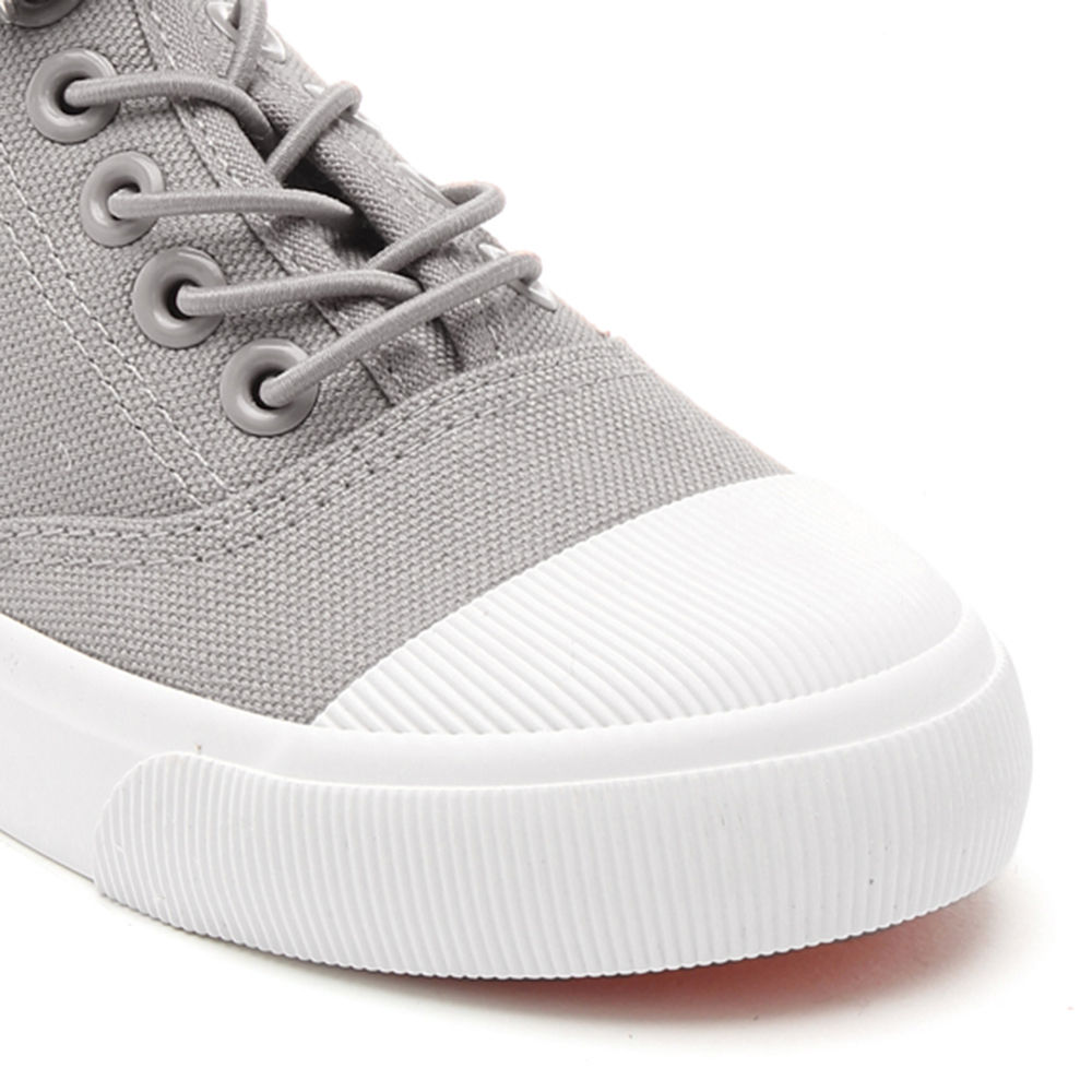 Buy Grey Canvas Shoes For Girls online