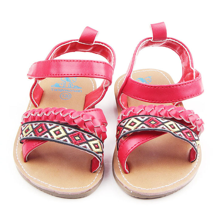 8becfac977b1 Hopscotch - Zia Shoes - Red Strappy Sandals