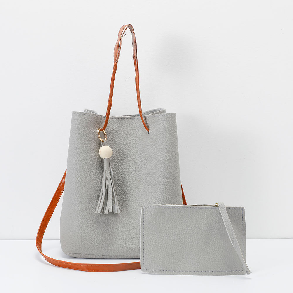 e276144574 Hopscotch - HB Pure Bags - Solid Stylish Sling Bag With Purse - Gray