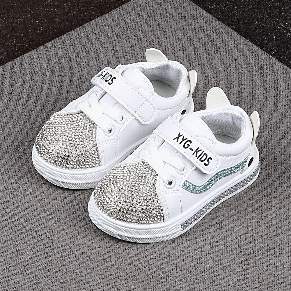 Buy White Text Print Cool Sneakers