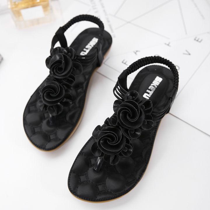 74b18a7898c8 Hopscotch - SIKETU - Women Beige Floral Strapy Sandals