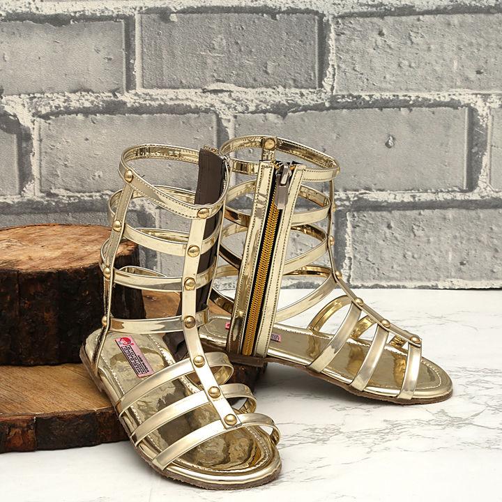 d63bc1a252a8 Hopscotch - Dchica - Golden Stylish Gladiators