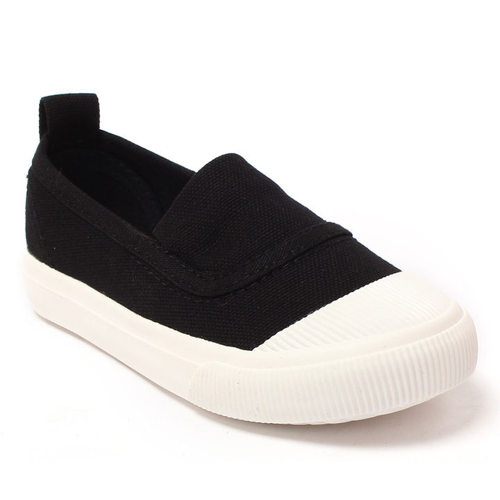 f3c2b7b544 Hopscotch - LCL By Walktrendy - Black Trendy Stylish Slip Ons