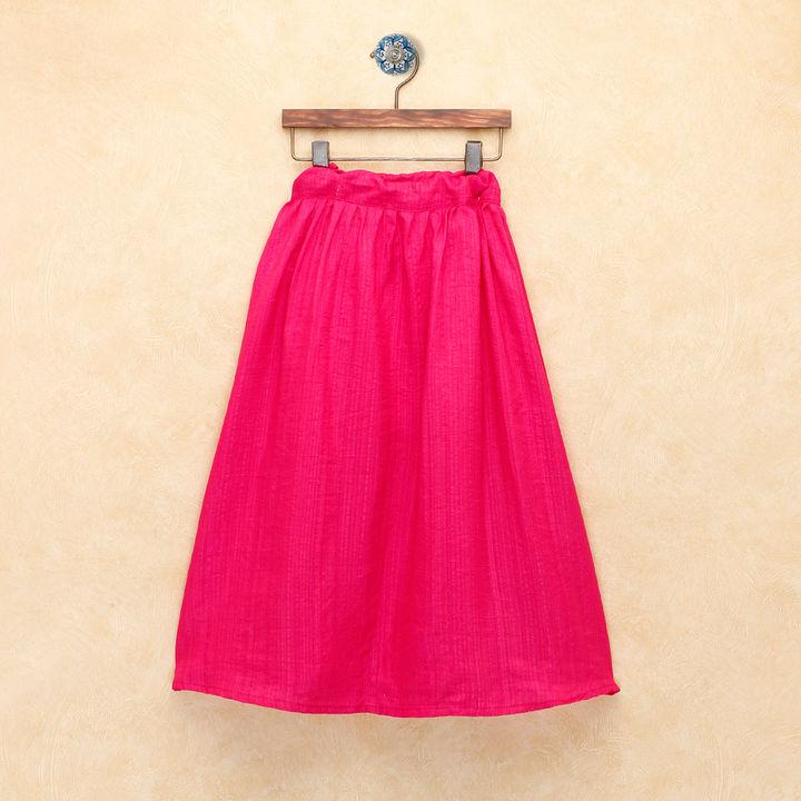 ad5275a1f12bd5 Hopscotch - BownBee - Bandhani Print Halter Neck Lehenga Choli- Pink