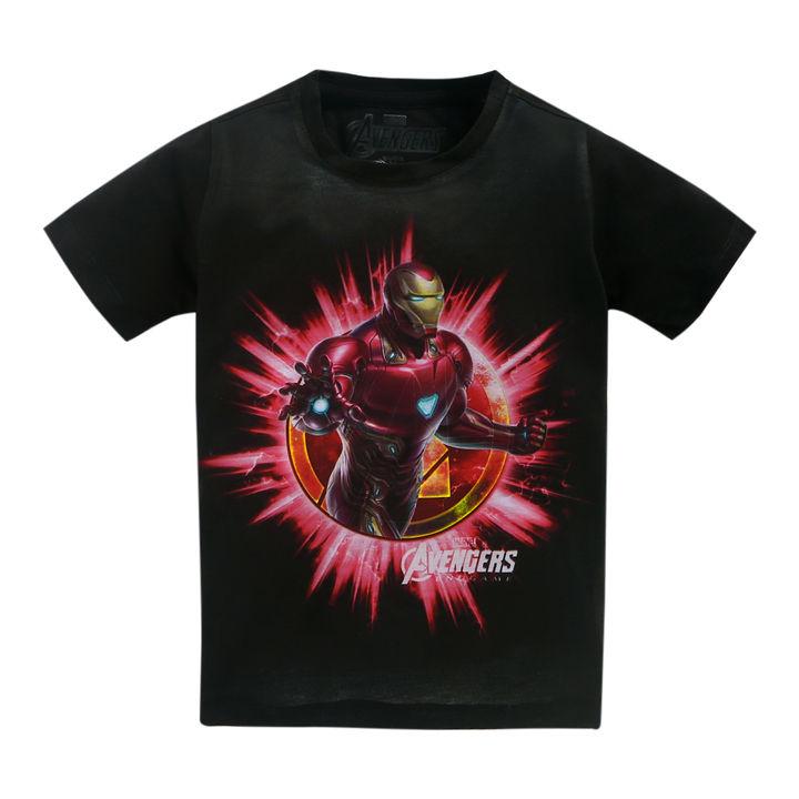e339b6d9 Buy Iron Man Black Half Sleeves T-Shirt online @ ₹539 | Hopscotch