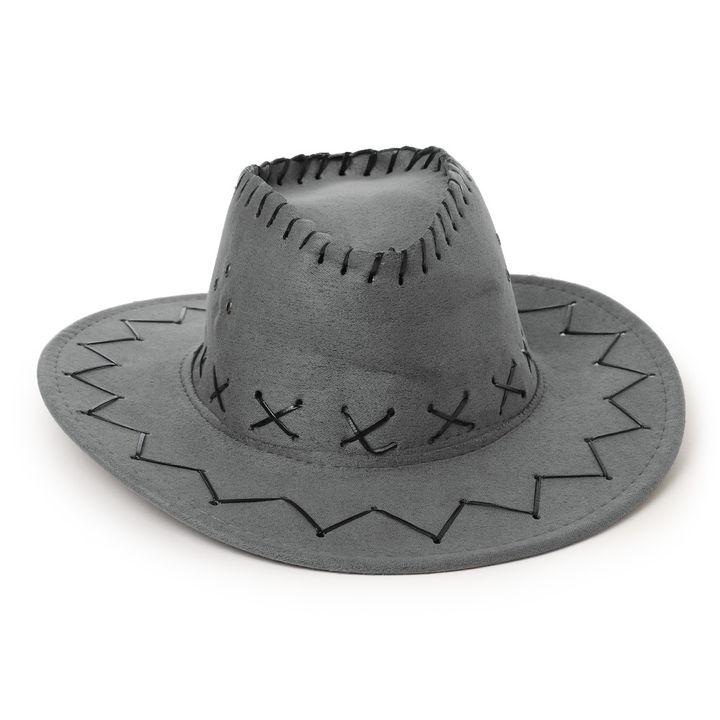 ebc01ab2669111 Buy Grey Crossline Cowboy Hat online @ ₹399 | Hopscotch