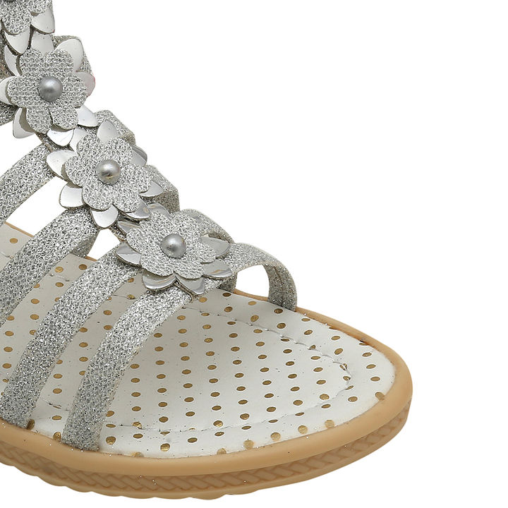 bf5d5fb9c53c Hopscotch - Dchica - Bling And Shine Ankle Length Gladiators For Girls