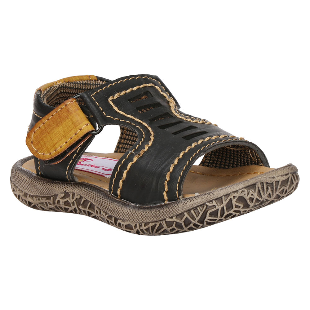 Black And Black Sandals Velcro Brown Velcro Sandals Brown And Brown VLpSUGMqz