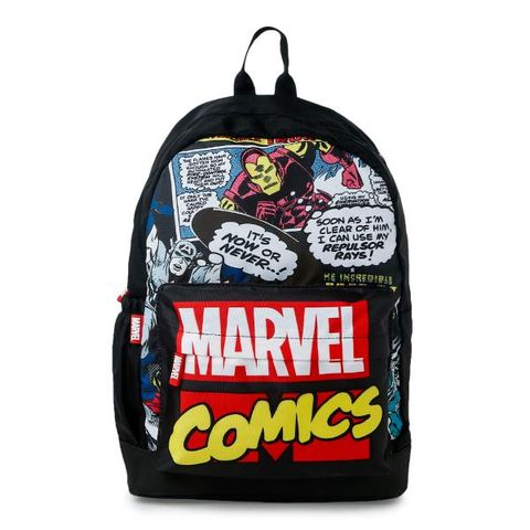 9e4d32d00b7 Multi Marvel Comics Print Back Pack