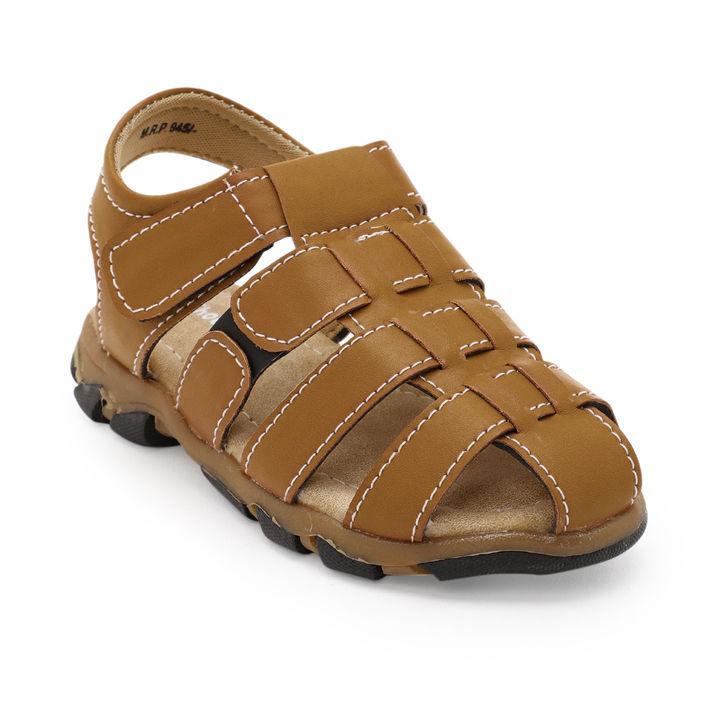 e688d59a3b18 Hopscotch - Shoe Biz - Tan Close Toe Fisherman Sandals