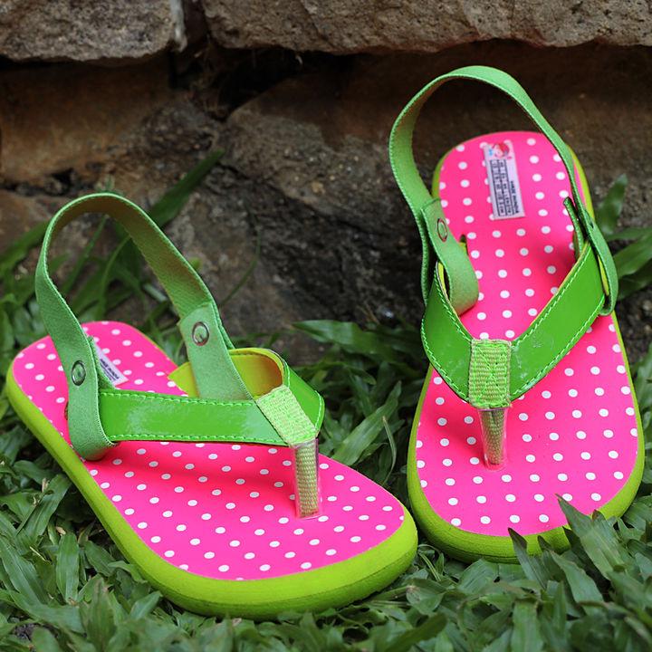 6d8a5e60b8195 Pastel Love Pink Flip Flops For Girls