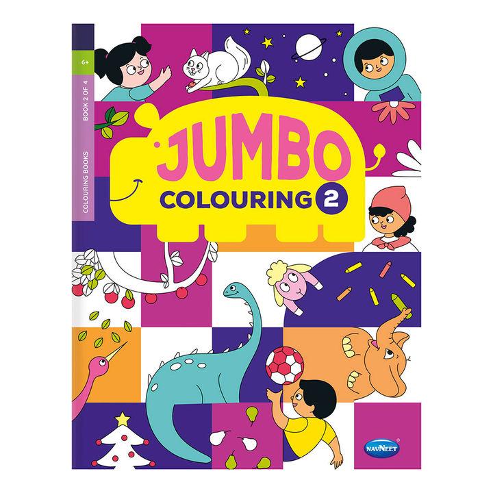 My Jumbo Colouring Book 2 - (5 Years & Above)