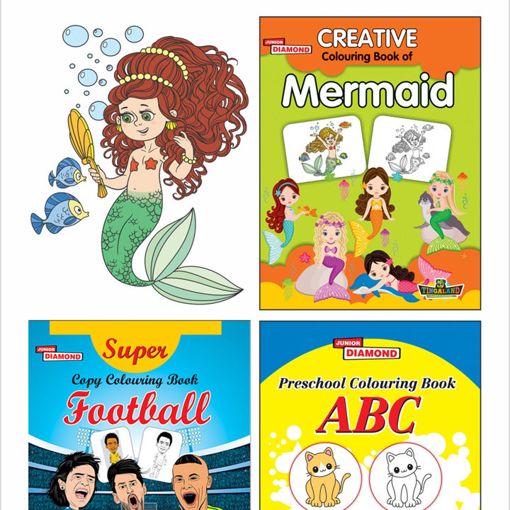Buy Creative Colouring Book Set Of 3 Books 4 Online 120