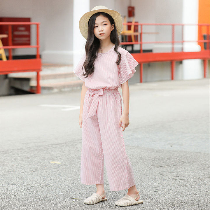 Buy Pink Top and Pant Set for Girl's online @ ₹1133 | Hopscotch