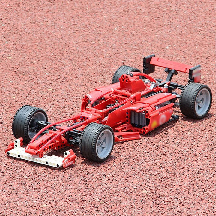 Diy 726 Pcs F1 Formula Racer 1:10 Super Racing Car Model Building Blocks  Set Toy