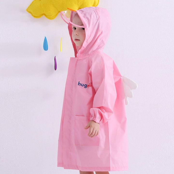 af626985c9 Bird Applique Full Sleeves Raincoat - Pink