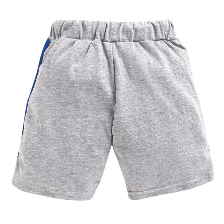 1fc423bd Buy Ben 10 Print Half Sleeves Blue T-Shirt and Short Set online ...