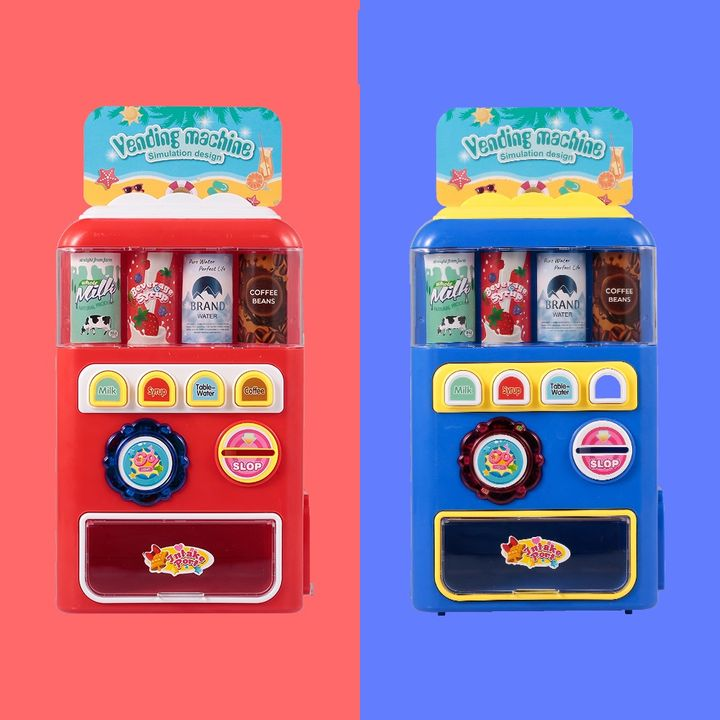 Buy Battery Operated Juice Dispenser Vending Machine Toy With Lights
