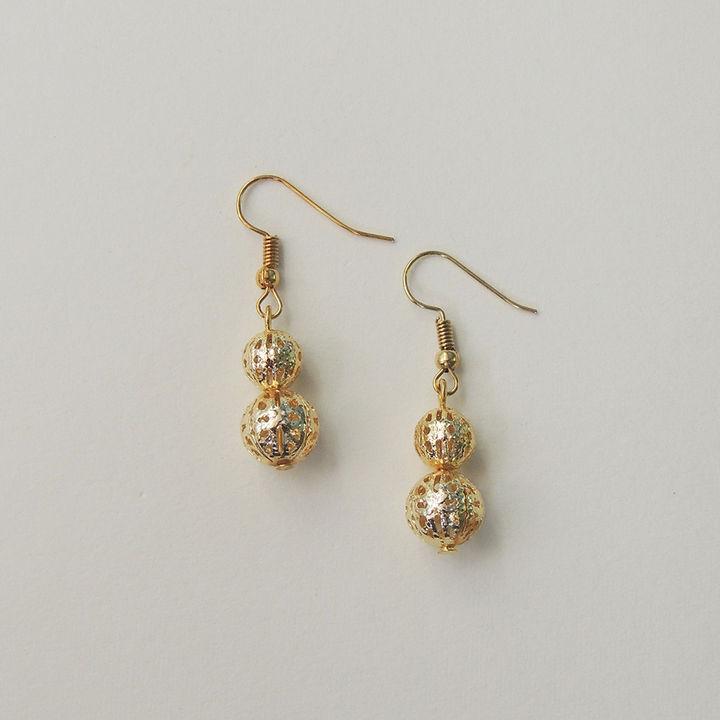 15b036ffd03cb Golden Drop Earrings