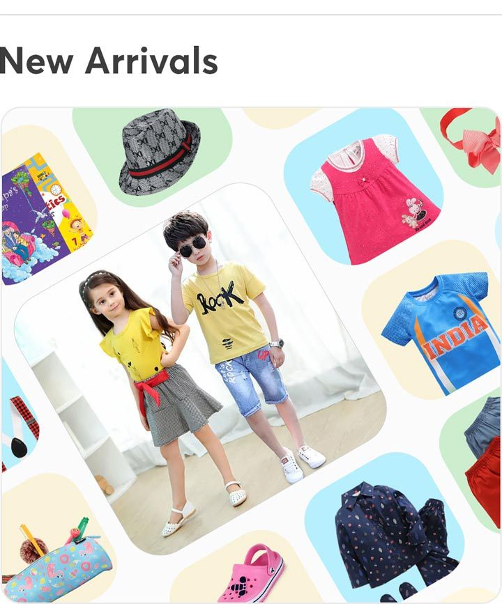 862ef57b8e7b8 Kids Clothes Online | Baby Products Online in India at Hopscotch.in