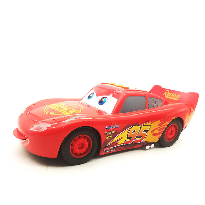 Battery Operated Friction Powered Queen Racing Car Toy With Light And Sound  Effects