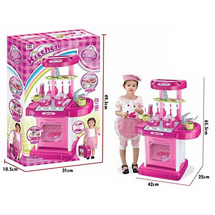Buy Kitchen Set Kids Luxury Battery Operated Kitchen Super Set Toy Online 1738 Hopscotch